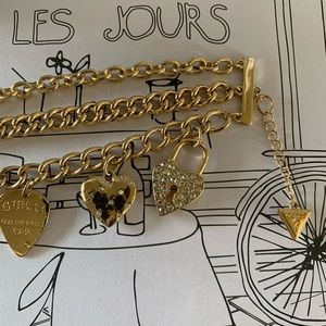 Guess Jewelry - GUESS Multi Chain Charm Bracelet